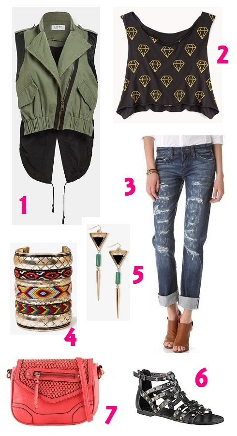 What to Wear to Coachella -- Stylin' & Profilin' blog (www.stylinandprofilin.net)