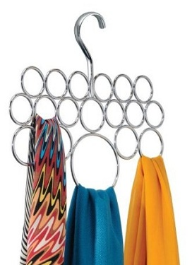 InterDesign Axis Scarf Holder, $12.12, amazon.com
