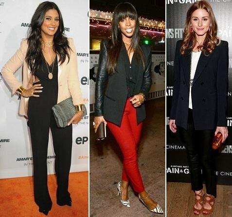 Rachel Roy, Kelly Rowland, Olivia Palermo