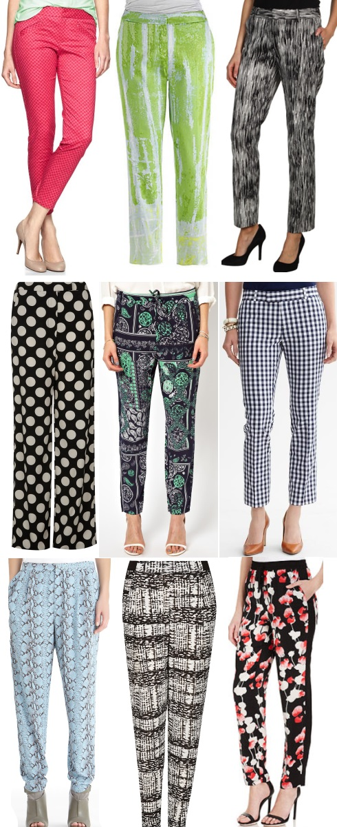 9 Printed Pants You'll Love