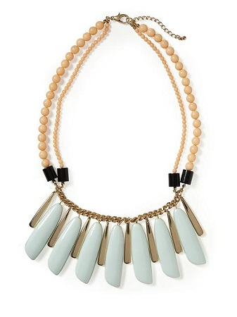 Tinley Road Pastel Statement Necklace, $38, piperlime.com