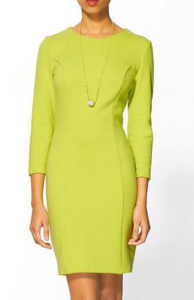 Tinley Road Long Sleeve Ponte Body Con Dress, $59.99, piperlime.com