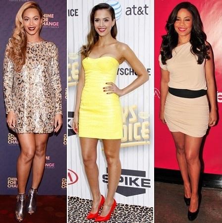 Beyonce, Jessica Alba, Sanaa Lathan