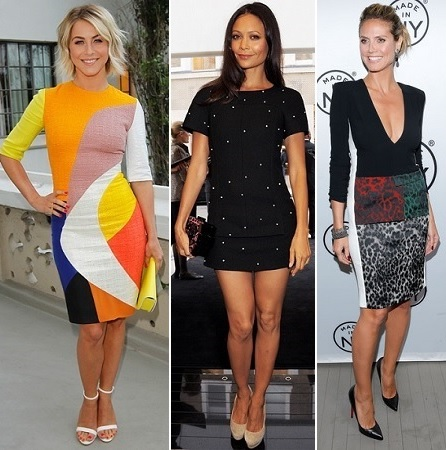 Julianne Hough, Thandie Newton, Heidi Klum