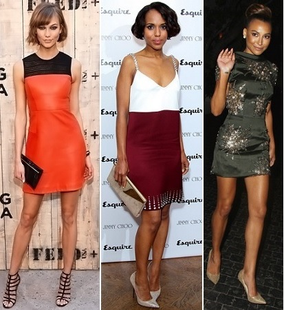 Karlie Kloss, Kerry Washington, Naya Rivera