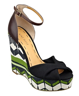 'Dig' Wedge Sandal, $39.99 (with 20% discount), ninewest.com