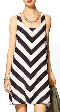 Hive & Honey Chevron Mini Dress, $62.99 (originally $79), piperlime.com