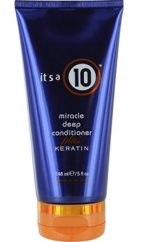 It's a 10 Miracle Deep Conditioner Plus Keratin, $14.19, amazon.com