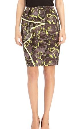 Cascade Ruffle Skirt, $89, rachelroy.com