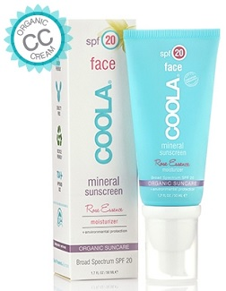 Coola FACE SPF 20 Rose Essence Tint, $36, coolasuncare.com