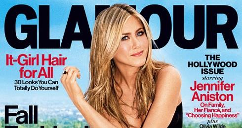 Glamour magazine's September 2013 cover