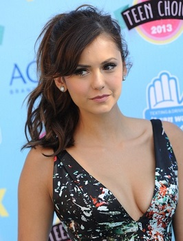 Nina Dobrev at the 2013 Teen Choice Awards.
