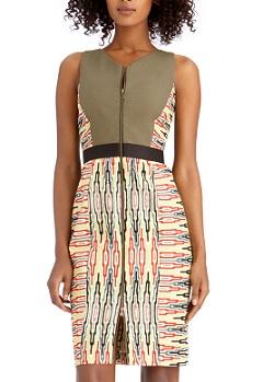 Mix Print Dress, $48.30 (originally $129), rachelroy.com