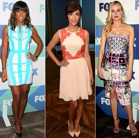 Kelly Rowland, Hannah Simone, Diane Kruger