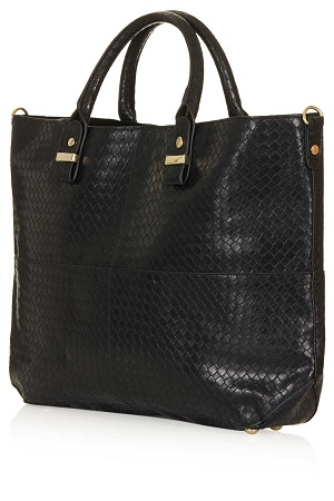 Woven Lady Tote, $70, topshop.com