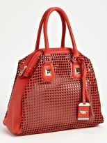 Poverty Flats by Rian Perforated Faux Leather Shoulder Bag, $90, nordstrom.com