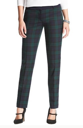 Marisa Plaid Ankle Pants, $79.50 (take 40% off w/STYLEEVENT promo code), loft.com
