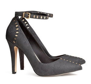 Pumps With Studs, $15 (marked down from $29.95), hm.com