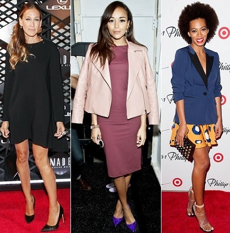Sarah Jessica Parker, Ashley Madekwe, Solange Knowles