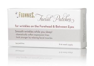 Frownies Facial Patches for Wrinkles on the Forehead & Between the Eyes, $19.95, frownies.com