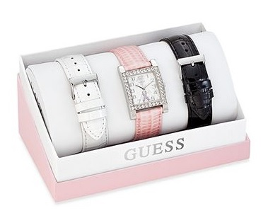 Guess Women's 2013 Susan G. Komen for the Cure Interchangeable Watch, $115, macys.com