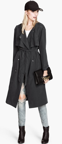 Trenchcoat, $24.95 (marked down from $59.95), hm.com