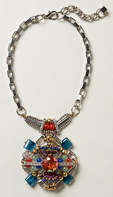 Damselfly Pendant Necklace, $29.95 (marked down from $58), anthropologie.com