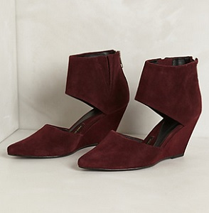 Eclissare Wedges, $79.95 (marked down from $168), anthropologie.com