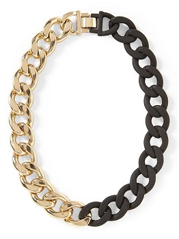 Hive & Honey Chain Link Necklace, $48, piperlime.com