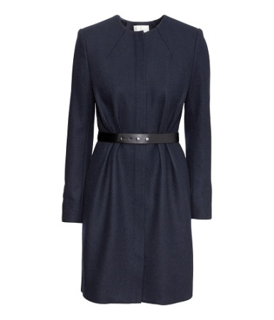 Fitted Coat, $79.95, hm.com