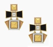 Turn the Corner Earrings, $49, katespade.com