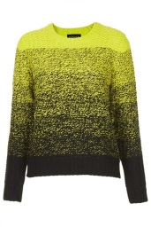 Knitted Ombre Sweater, $76, topshop.com