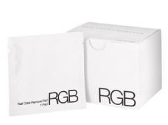 RGB Nail Color Remover Pads, $28, rgbcosmetics.com