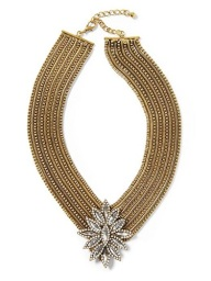 Sabine Large Brooch Chain Necklace, $68 (plus 40% off with AMTOPM promo code through 11/25), piperlime.com