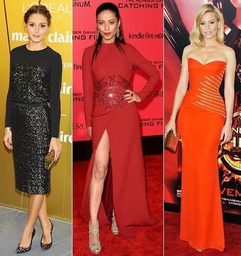 The Stylish Vote: Olivia Palermo, Meta Golding, Elizabeth Banks