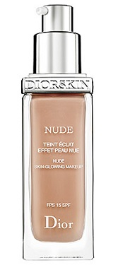 Diorskin Nude Skin-Glowing Makeup SPF 15, $48, sephora.com