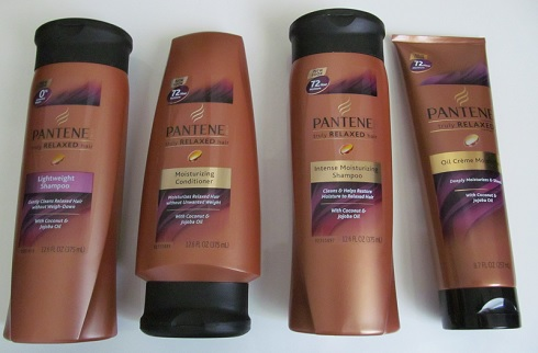 Pantene Pro-V Truly Relaxed hair care products
