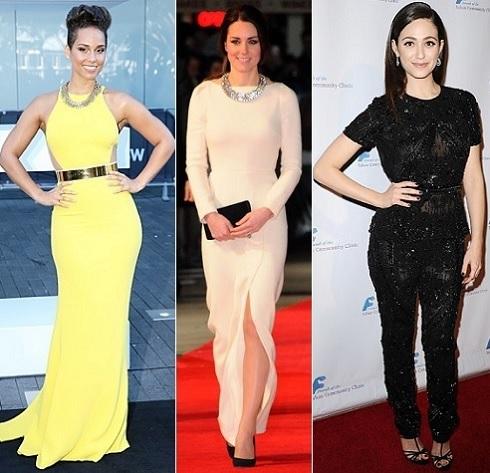 The Stylish Vote: Alicia Keys, Kate Middleton, Emmy Rossum