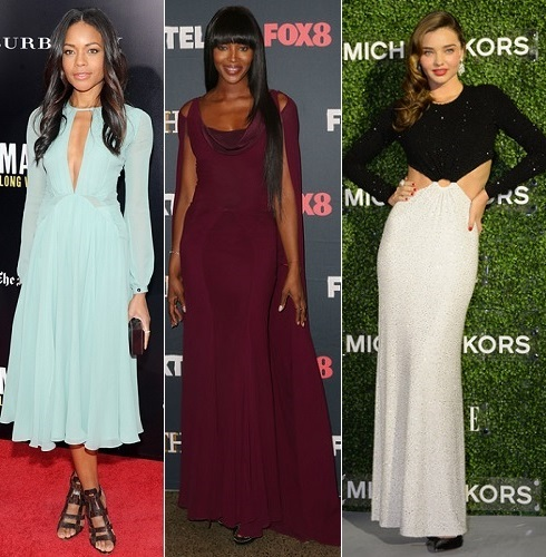 The Stylish Vote: Naomie Harris, Naomi Campbell, Miranda Kerr