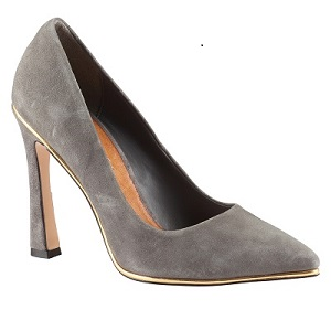 Melvinia Pumps in Dark Gray, $49.98 (originally $100), aldoshoes.com