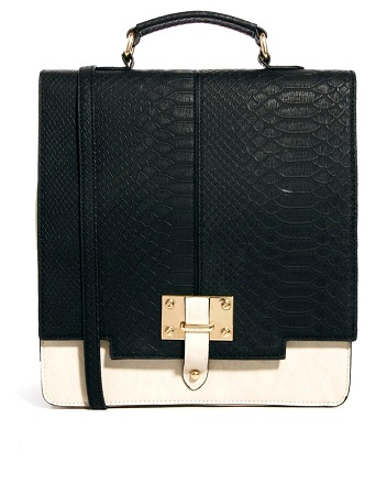 ASOS North to South Top Handle Bag, $59.26, asos.com