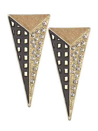 Tinley Road Long Triangle Drop Earrings, $19.99, piperlime.com