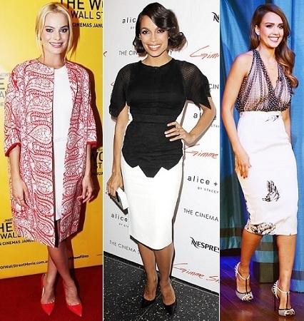 The Stylish Vote: Margot Robbie, Rosario Dawson, Jessica Alba