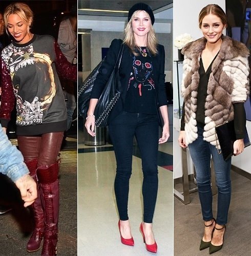 The Stylish Vote: Beyonce, Heidi Klum, Olivia Palermo