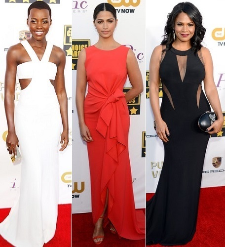 The Stylish Vote: Lupita Nyong'o, Camila Alves, Nia Long