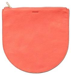 Baggu Leather Pouch, $40, baggu.com