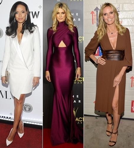 The Stylish Vote: Selita Ebanks, Delta Goodrem, Heidi Klum