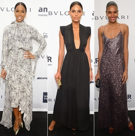 The Stylish Vote: Kelly Rowland, Emanuela DePaula, Arlenis Sosa