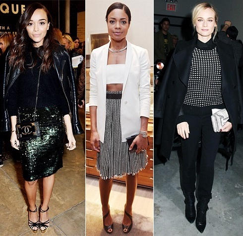 The Stylish Vote: Ashley Madekwe, Naomie Harris, Diane Kruger