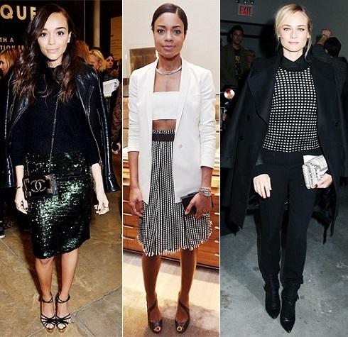 The Stylish Vote: Ashley Madekwe, Naomie Harris, Diane Kruger